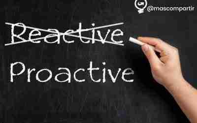 Se Proactivo y cambia tu vida